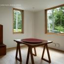 031軽井沢Tさんの家の写真 書斎