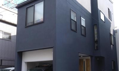 狭小敷地に建つ木造耐火の3階建て住宅|亀戸の家