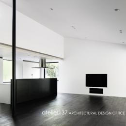 018軽井沢Cさんの家 (リビング / ダイニング)