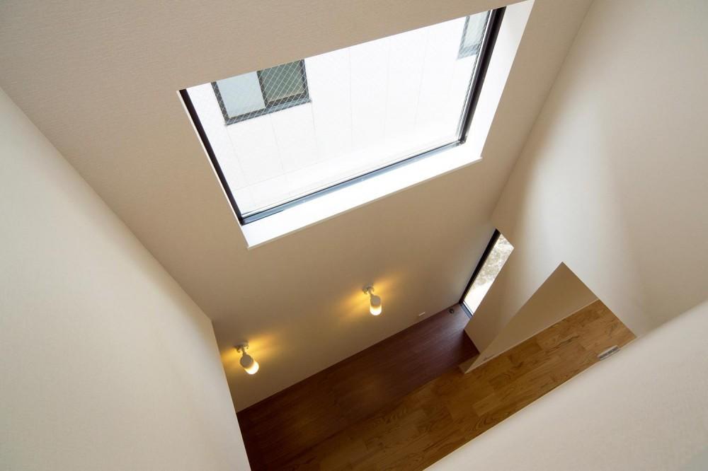白崎泰弘・治代「狭小敷地に建つ木造耐火の3階建て住宅|亀戸の家」