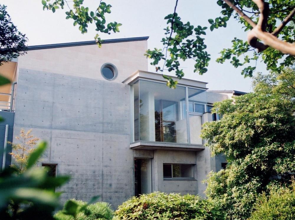 RC造の三世代住宅|六条の家 (外観)