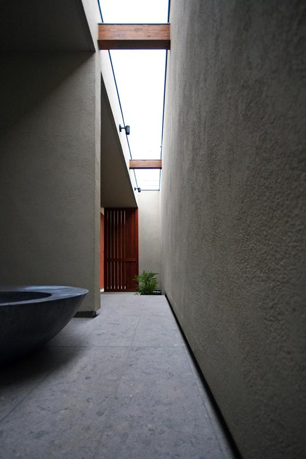 N house in Warabi 蕨の家の部屋 アプローチ