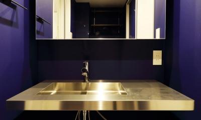 洗面台|ブルックリンスタイル