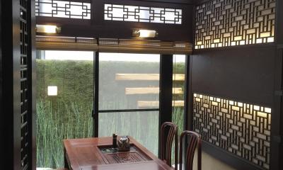 中国の茶室 (全景)