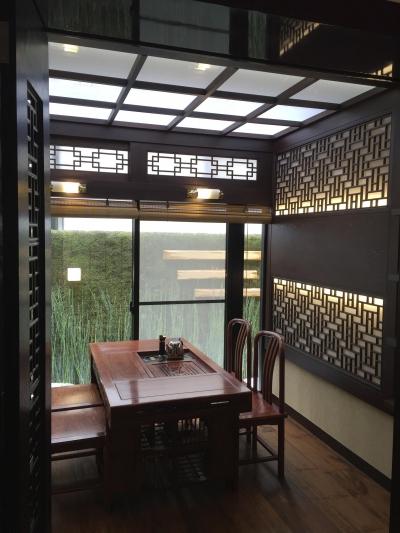 全景 (中国の茶室)