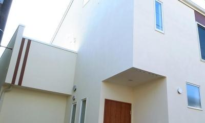 ワンフロアワンルームの木造住宅|小平の家