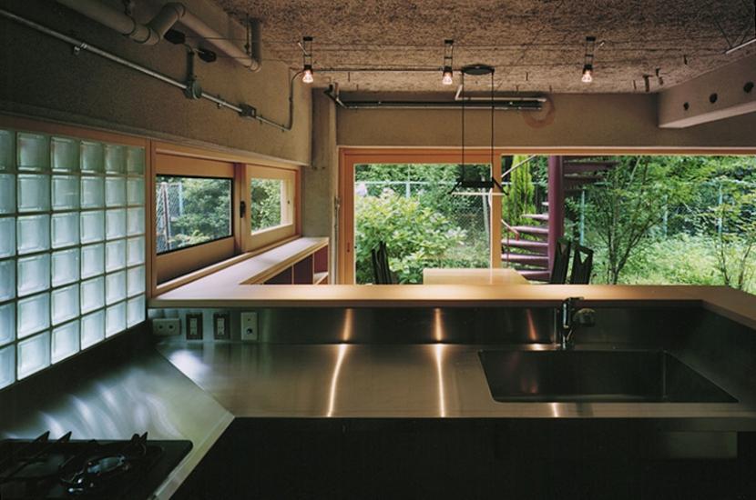 竹包隠居 tikuhouinkyoの写真 キッチンからの眺望