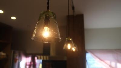 Patioのある家 (灯り)