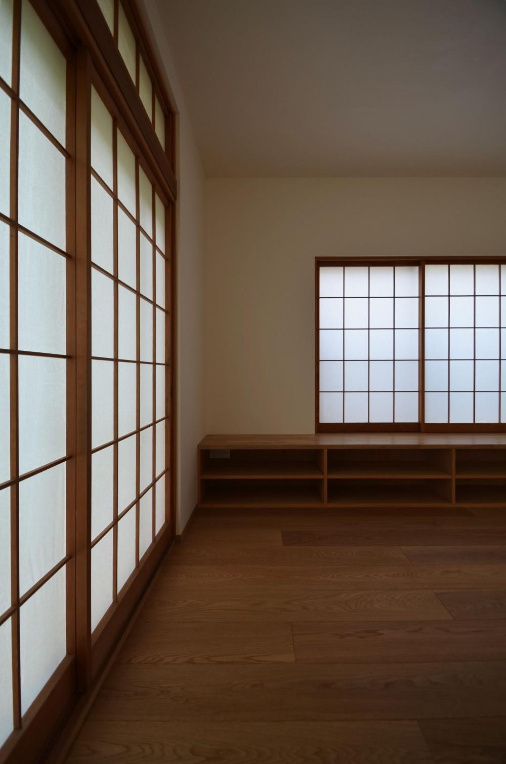 荻窪K邸-二世帯住宅を一世帯で使用、こだわりの部分リノベーション- (障子)
