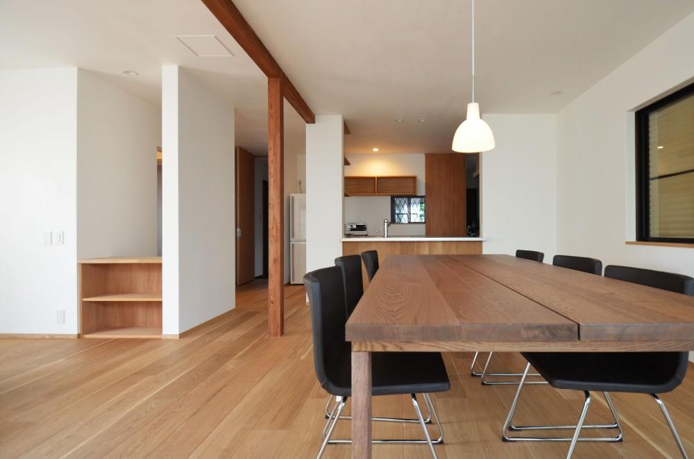 荻窪K邸-二世帯住宅を一世帯で使用、こだわりの部分リノベーション- (ダイニング)