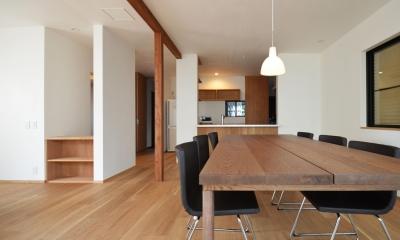 荻窪K邸-二世帯住宅を一世帯で使用、こだわりの部分リノベーション-