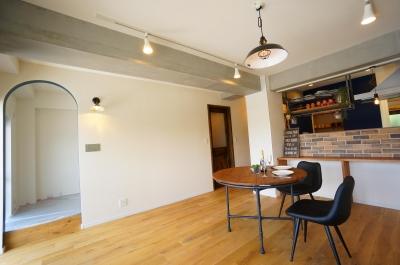 NY  Brooklyn style ~カフェの様な空間~ (リビング)