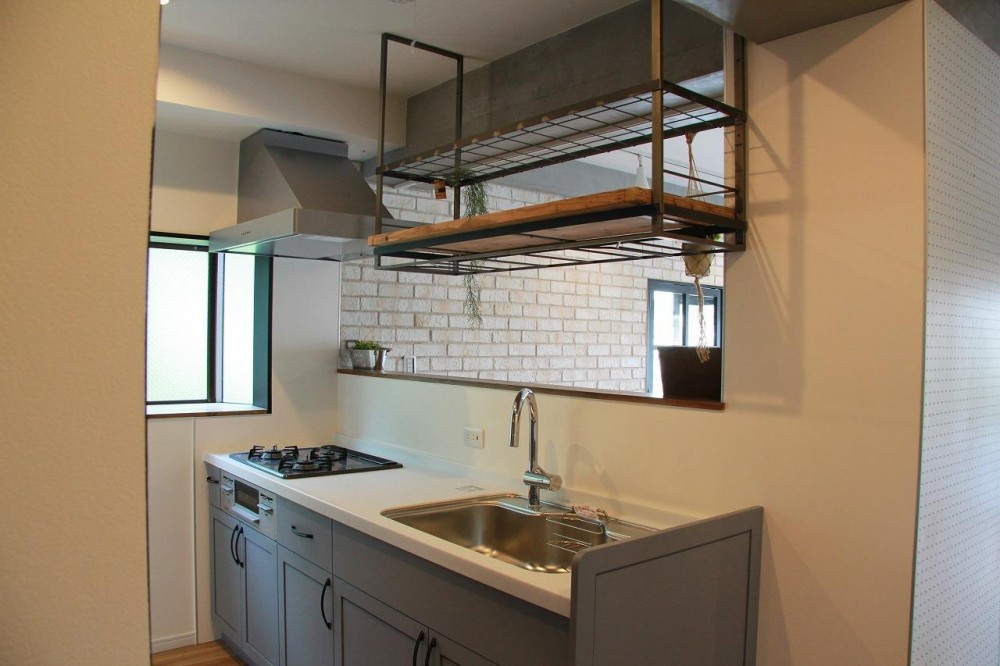 NY  Brooklyn style ~カフェの様な空間~ (キッチン)