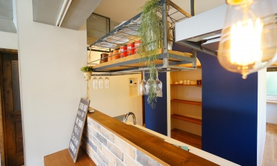 NY  Brooklyn style ~カフェの様な空間~ (カウンター)