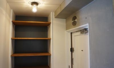 玄関|NY  Brooklyn style ~カフェの様な空間~