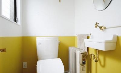 住うと仕事を楽しむ、レトロな雰囲気 (トイレ)