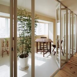 4階住居/プライベートリビング インナーテラス