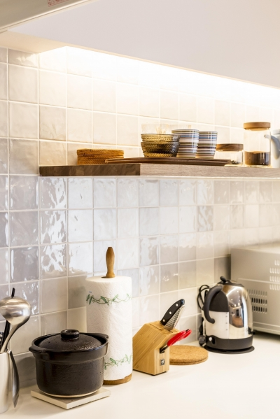 キッチン (U邸-築18年、使っていない「倉庫」を整理した)