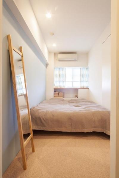 寝室 (U邸-築18年、使っていない「倉庫」を整理した)