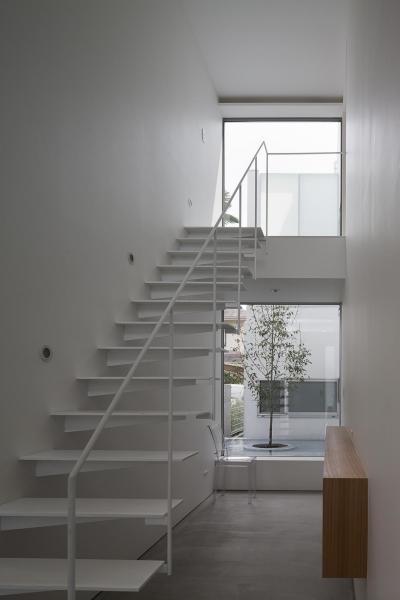 ODAWARA CORT HOUSE (階段)