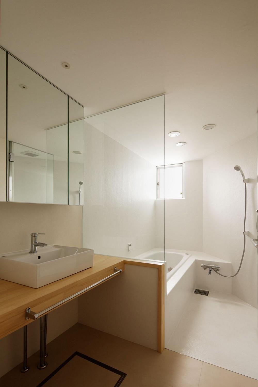 希望ヶ丘の家 (浴室、洗面)