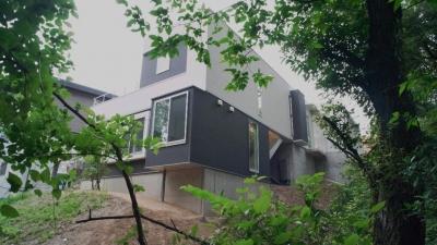 橋の住宅 (モダンな外観)