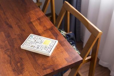 テーブル (O邸-1人でも「毎日きちんと作って食べる」ための部屋)