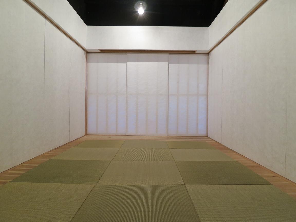 古民家再生・黒谷プロジェクトの部屋 シンプルな和室