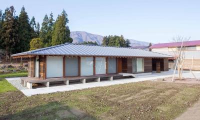 西根の家 (寒さを気にしない高性能窓を採用した平屋1)