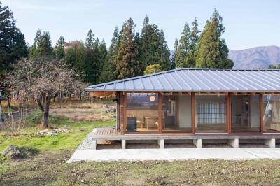 寒さを気にしない高性能窓を採用した平屋2 (西根の家)