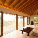 西根の家の写真 大開口木製サッシ