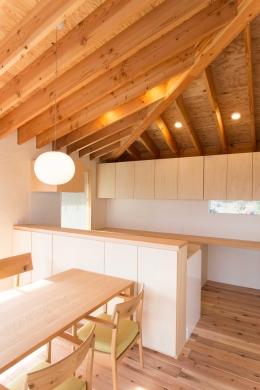 西根の家 (木を感じるキッチン)