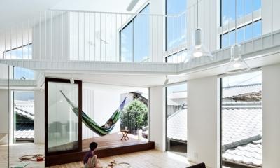 帆居 hammock house (デッキテラスとも一体で楽しめるLDK)