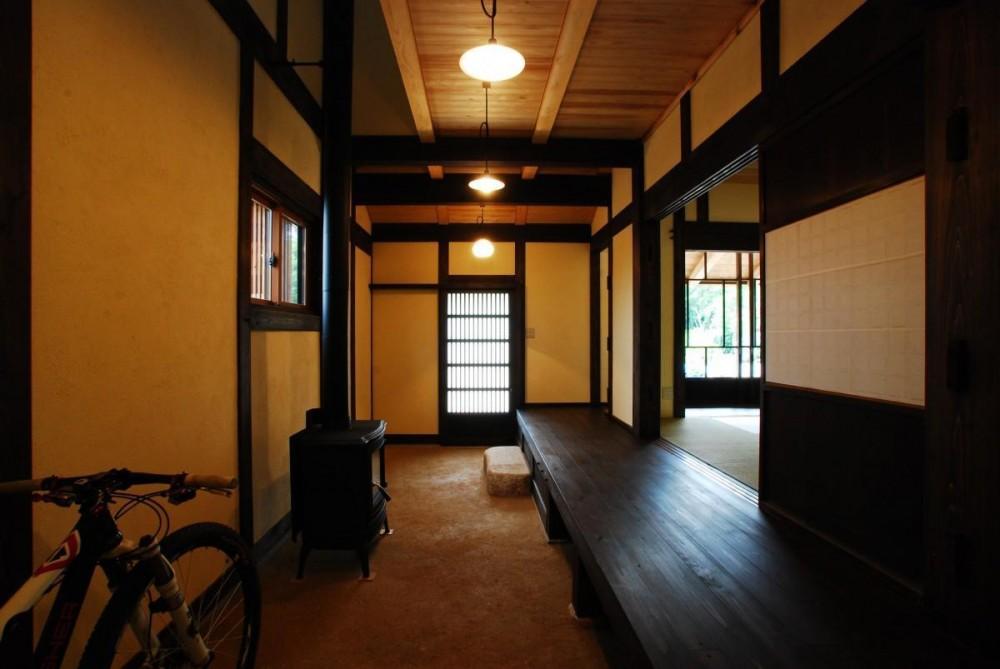 京建具の家 (玄関 土間)