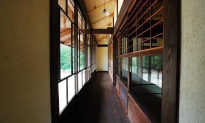 京建具の家 (廊下)