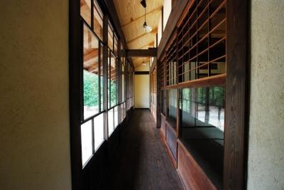 廊下 (京建具の家)