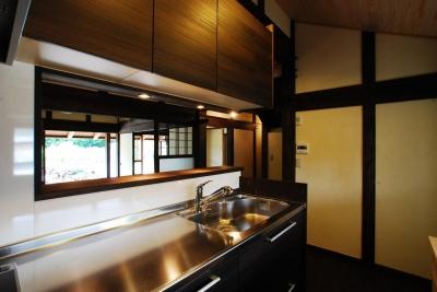 京建具の家 (キッチン)