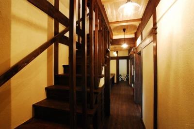 階段 (京建具の家)