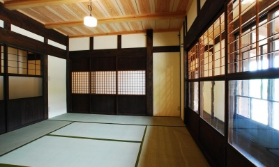 和室|京建具の家