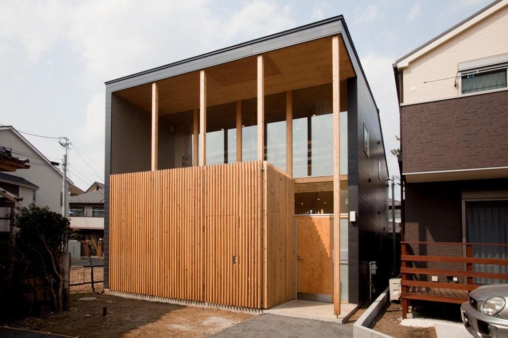 貫井北町の住宅 (南側外観)