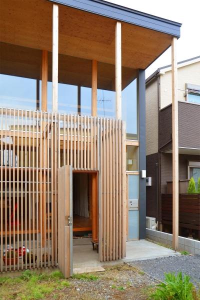 貫井北町の住宅 (外観詳細)
