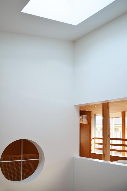 貫井北町の住宅 (吹抜の開口部)