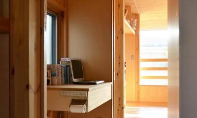 貫井北町の住宅 (トイレ物置)