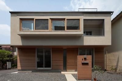 東大泉の住宅 (南側外観)