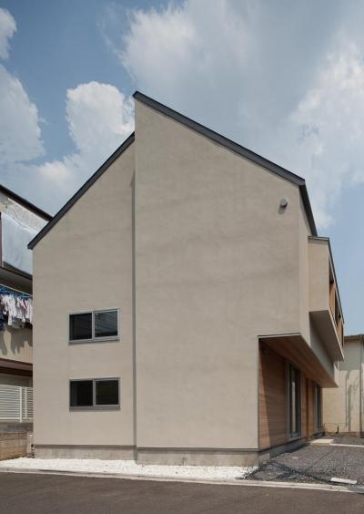 東大泉の住宅 (西側外観)