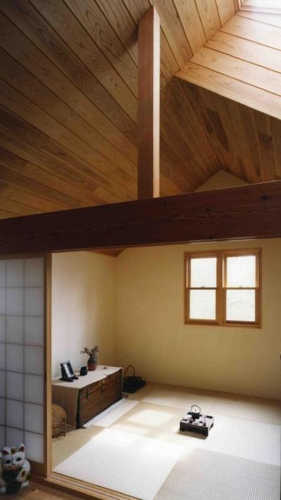 2 階にある可愛い和室です (下町で静かに暮らす熟年夫婦の家)