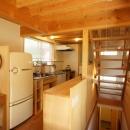 ののの家―コンパクトな2世帯住宅の写真 キッチン