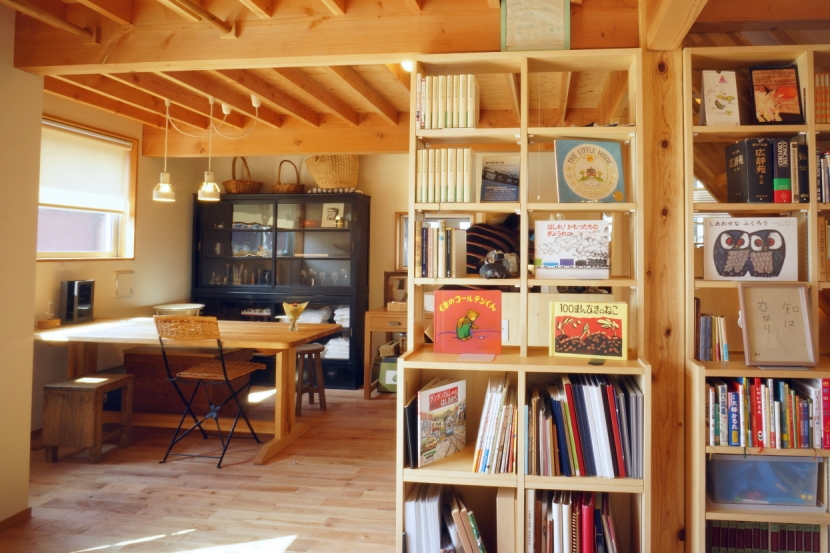 ののの家―コンパクトな2世帯住宅の部屋 ダイニングルーム