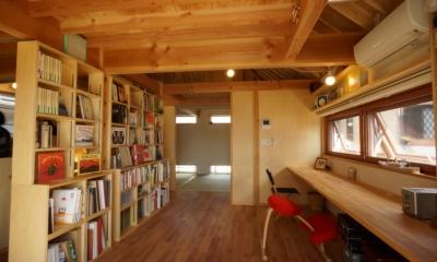 ののの家―コンパクトな2世帯住宅 (スタディールーム)