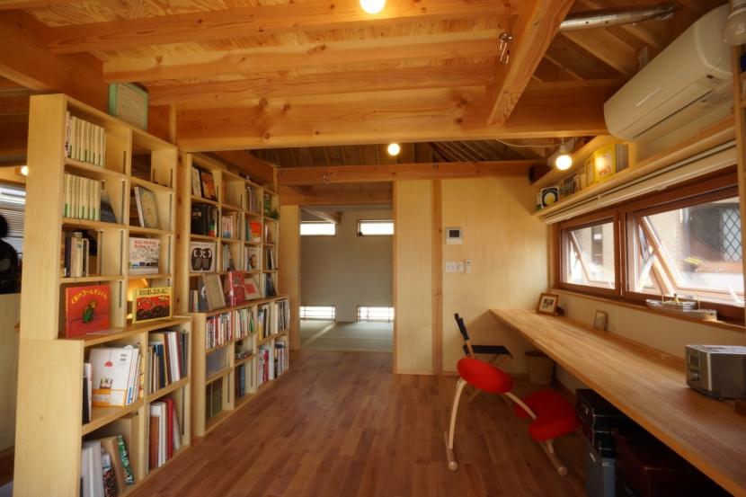 ののの家―コンパクトな2世帯住宅の部屋 スタディールーム
